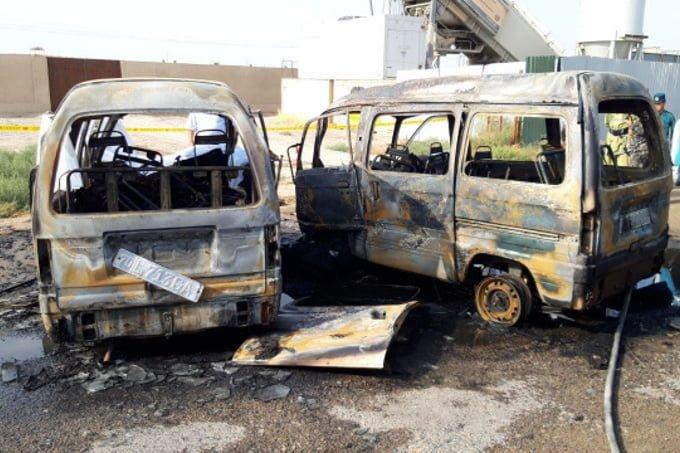 Ужасное ДТП в Кашкадарье: столкнулось 2 Дамаса, 5 человек погибли, еще 4 в реанимации - 1