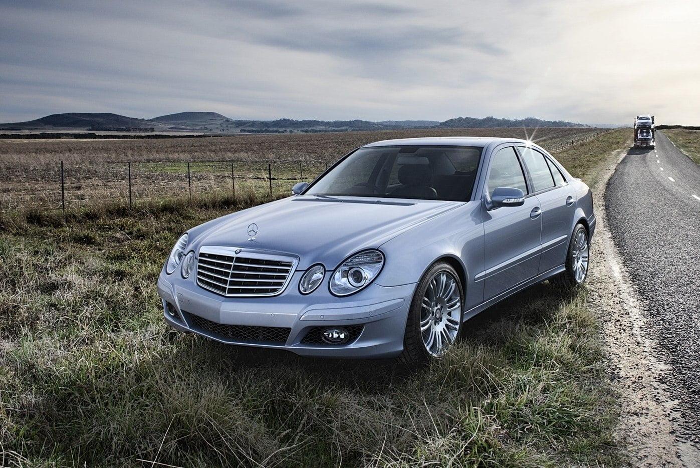 Mercedes-Benz E-Klasse в кузове W211 в Узбекистан ввезти будет нельзя, т.к. он не соответствует стандарту Евро-5