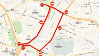 Photo of Завтра утром закроют несколько улиц для движения (карта)