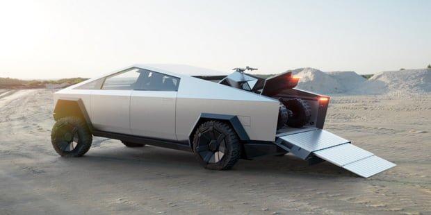 Tesla Cybertruck — бронированный электрический пикап за $40,000 - 1