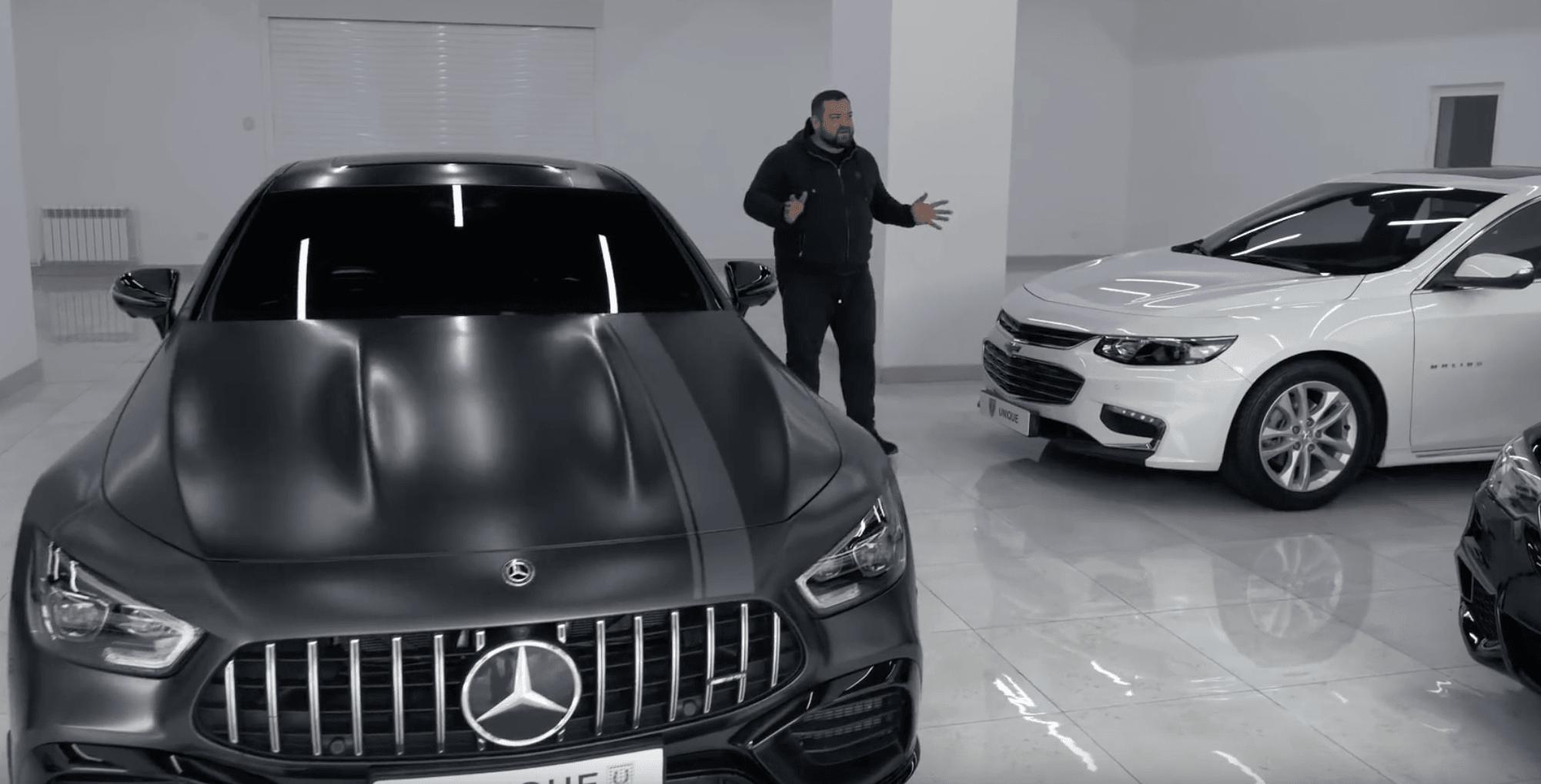 Давыдыч выпустил обзор Mercedes Benz AMG GT 63 S, снятый в Узбекистане (видео)