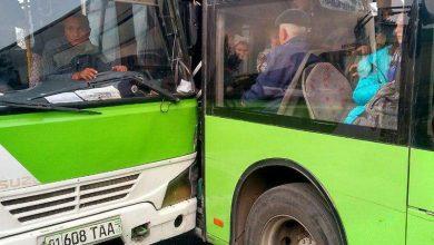 Photo of Два автобуса толкнулись в Сергели