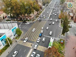 """""""Вафельная"""" разметка в Ташкенте: что это такое и зачем она нужна?"""
