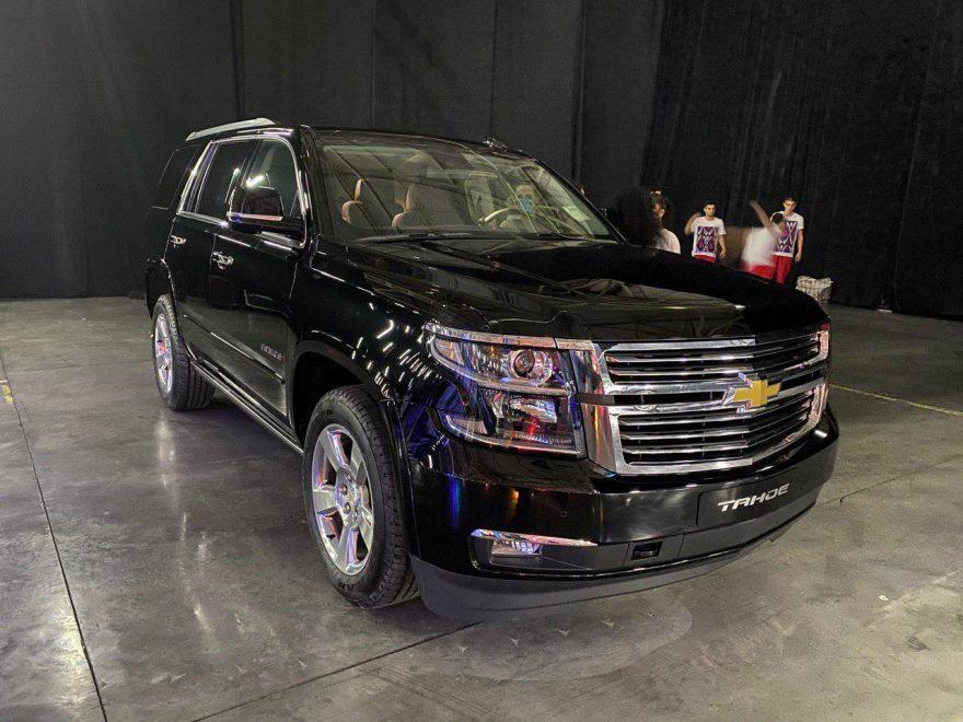 Chevrolet Tahoe презентовали в Ташкенте