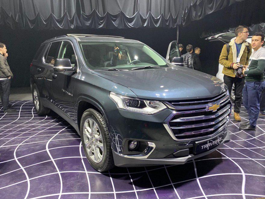 Chevrolet Traverse презентовали в Ташкенте