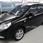 Матовый цвет авто — теперь на заказ. UzAuto Motors начал красить машины в матово-черный цвет