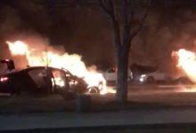 Photo of BMW въехал в Lacetti, обе машины сгорели, два человека погибли