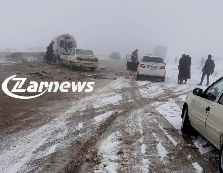 Массовая авария произошла в Самаркандской области — столкнулись 14 автомобилей - 3