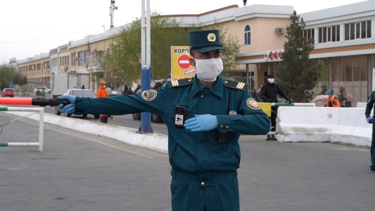 Кто может ездить без стикера во время карантина в Ташкенте