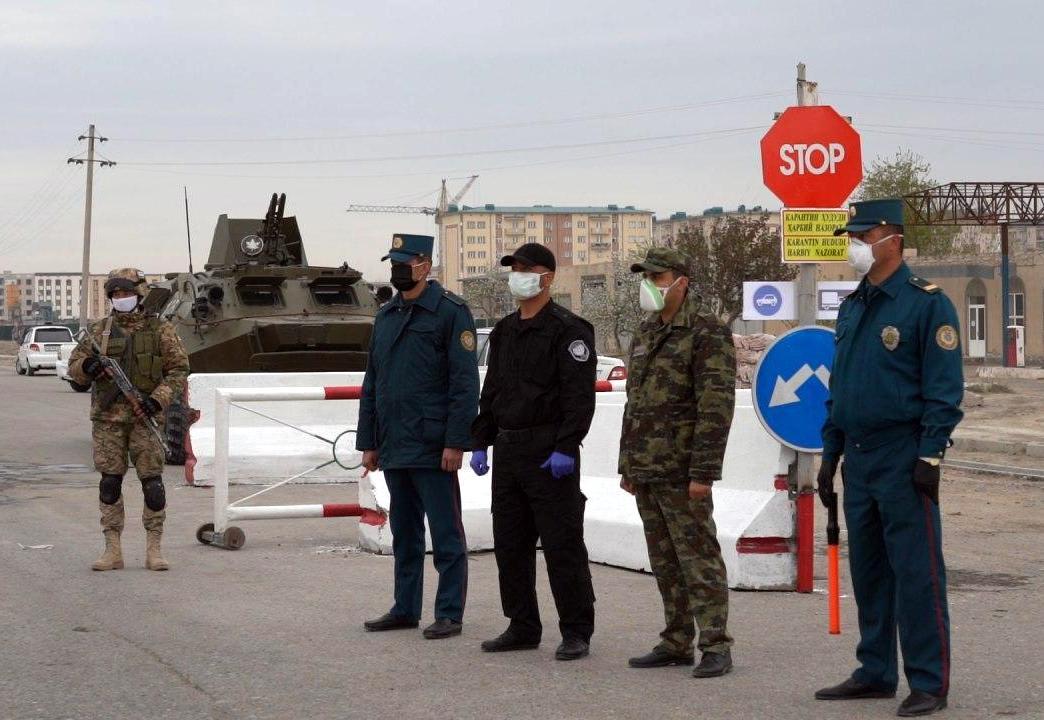 Карантин в Ташкенте - перекрыты все въезды в город