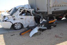 Photo of Смертельное ДТП в Бухаре — Cobalt влетел под грузовик, 3 человека погибли