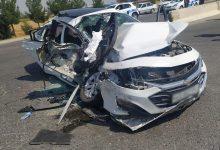 Photo of Жуткая авария в Самарканде — грузовик протаранил Malibu, три человека погибли (видео столкновения)