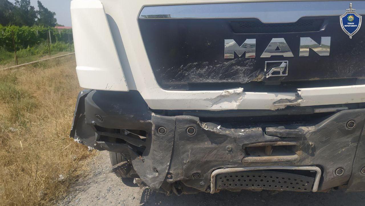 Жуткая авария в Самарканде — грузовик протаранил Malibu, три человека погибли (видео столкновения) - 2