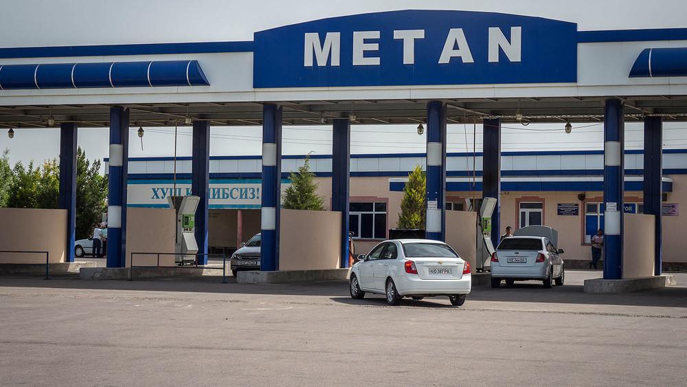 Газ по расписанию: в Андижане ограничена работа газовых заправок