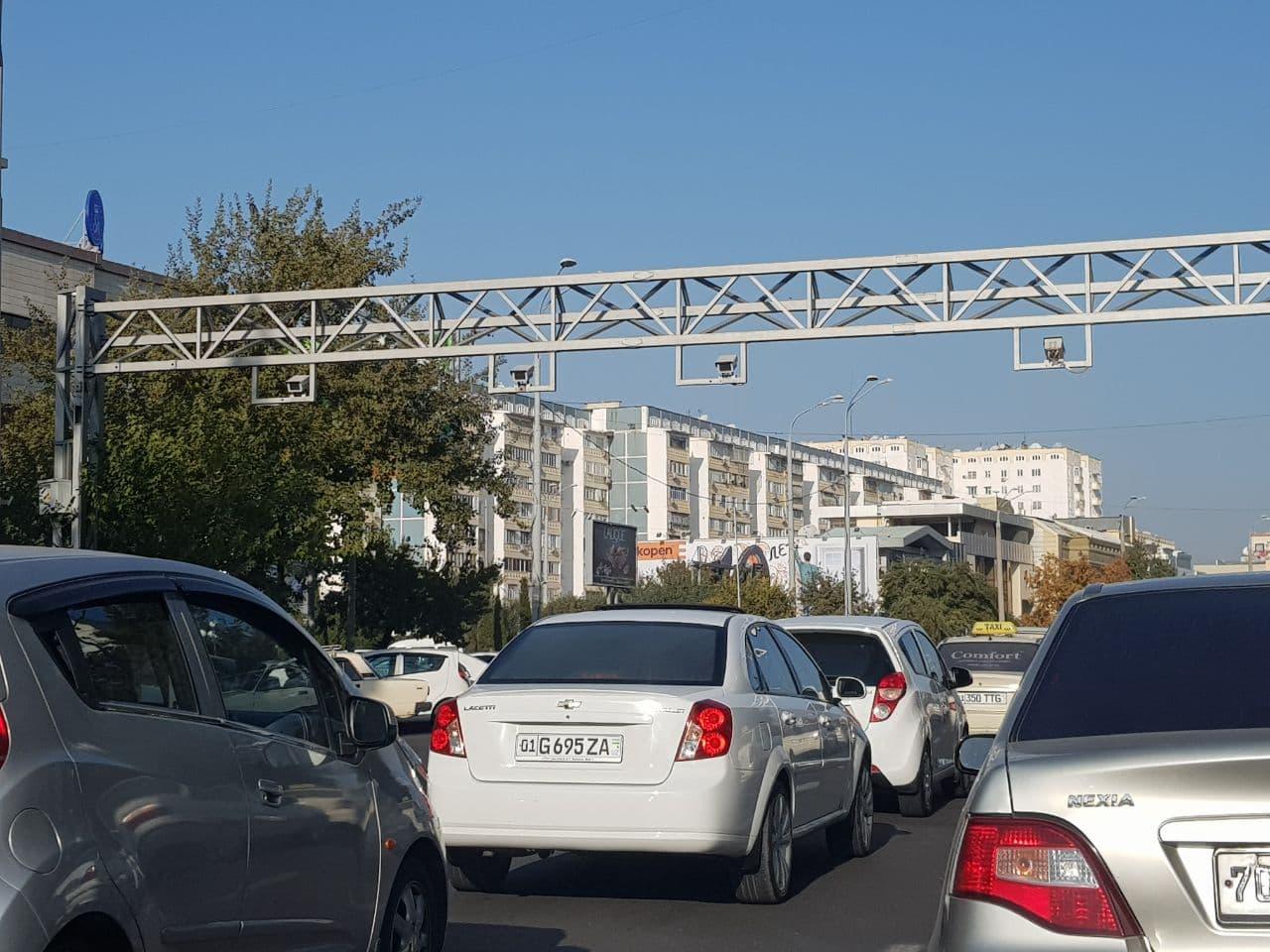 В Ташкенте появится 157 новых частных радаров и 2,5 тысячи камер (геолокация)