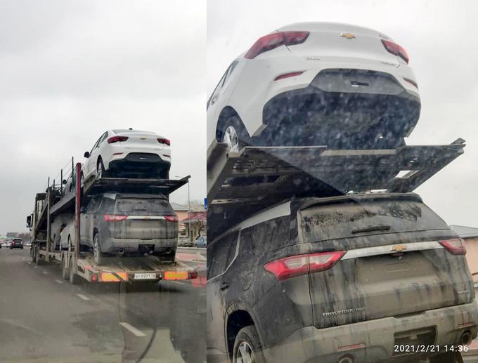 Тестовые образцы Chevrolet Onix доставили в Узбекистан