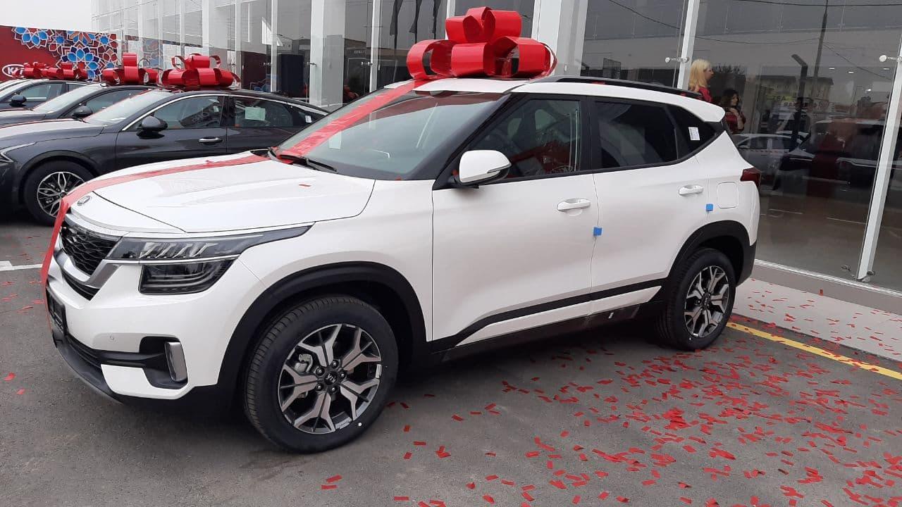 Автосалоны KIA Uzbekistan начали выдавать машины