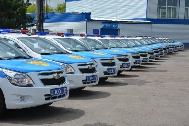 Казахская полиция пересела на Кобальты