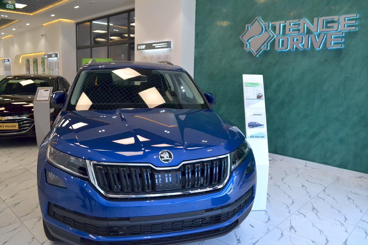 Tenge Bank открыл автосалон и предлагает автокредиты под 22,5% годовых