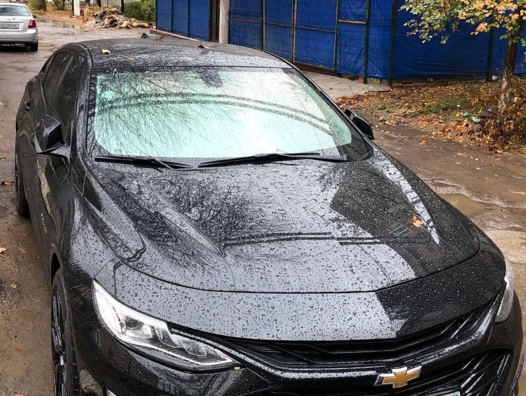 Атермарльное стекло на Chevrolet Malibu
