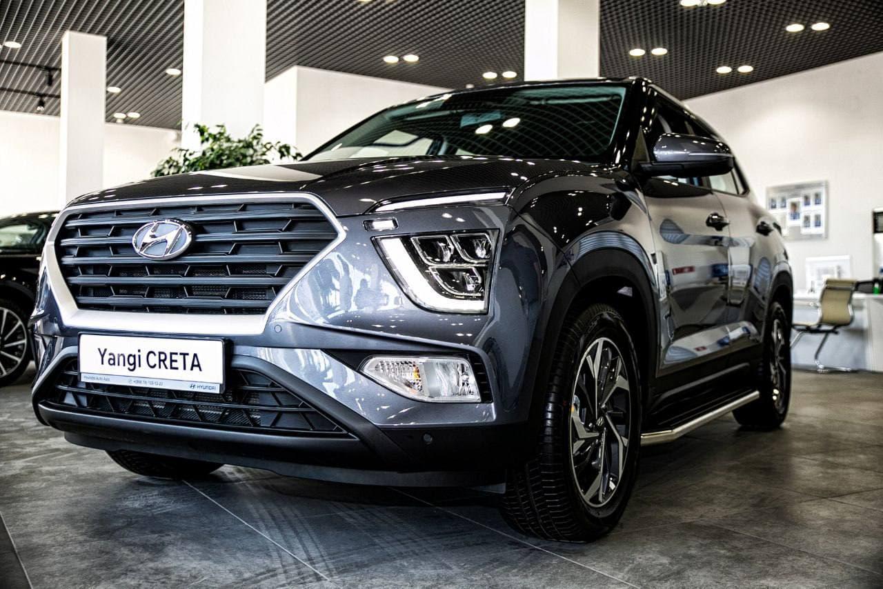 Hyundai Creta в топовой комплектации в Узбекистане