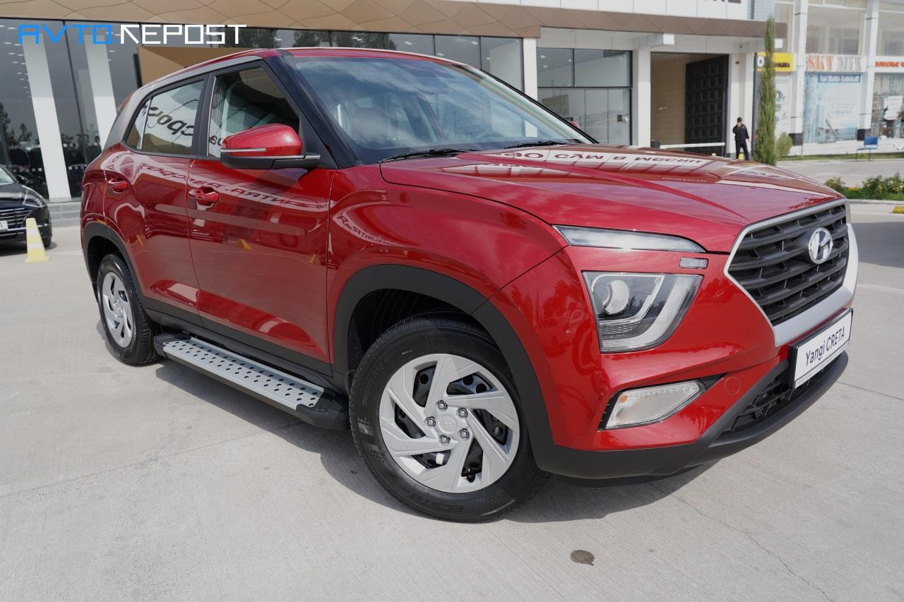 Новая Hyundai Creta в Узбекистане